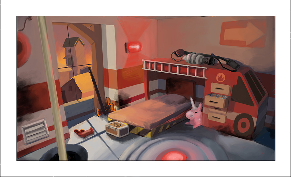 TF2 Pyro Bedroom Kelsey Watkins